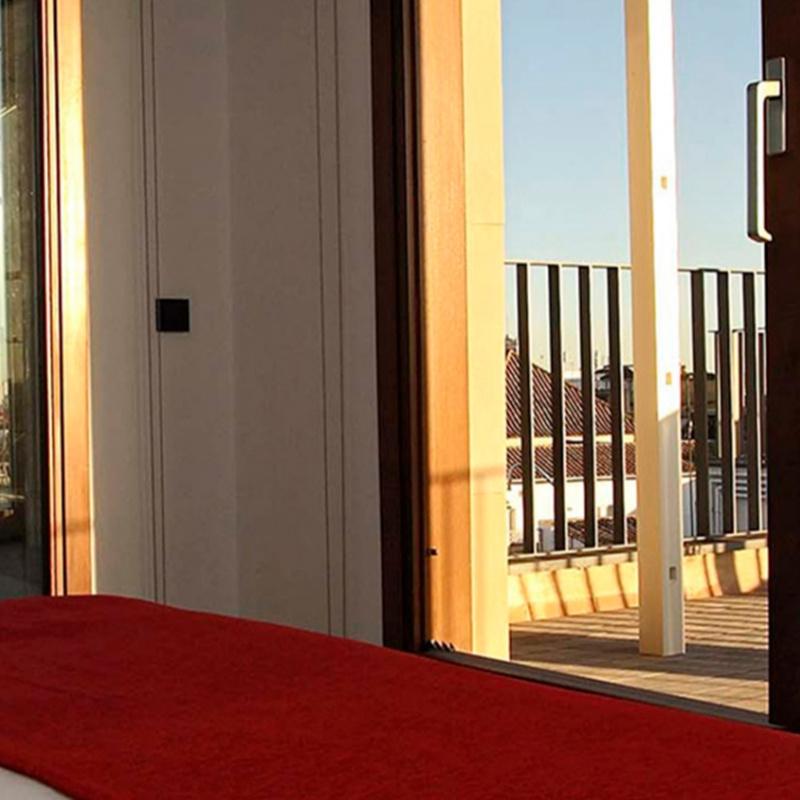habitaciones mercer sevilla hotel de lujo en sevilla