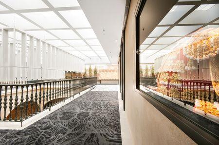 Mercer Hotel Sevilla Pasillo