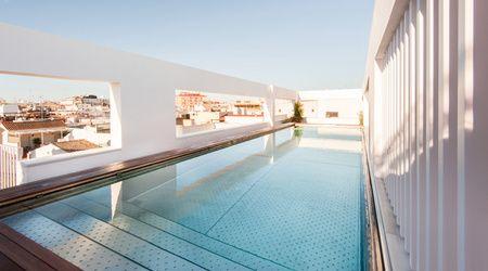 Mercer Hotel Sevilla Piscine Terrasse
