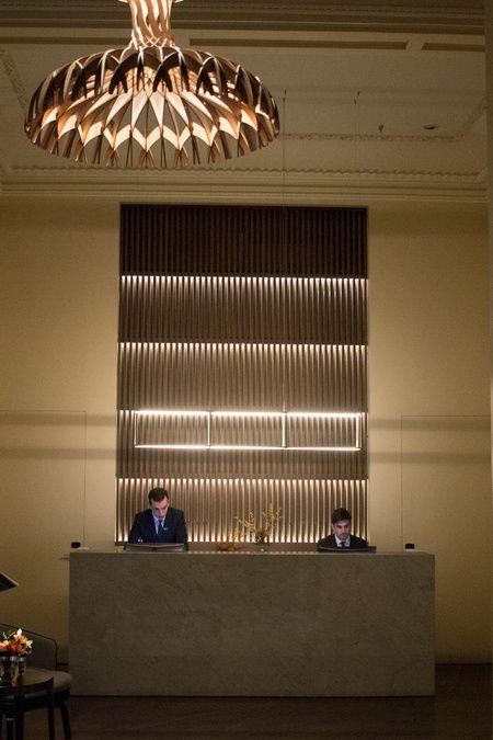 Mercer Hotel Sevilla Recepción