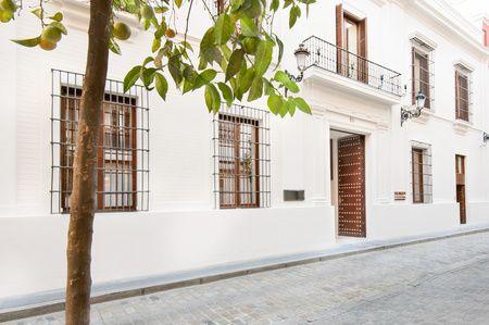 Mercer Hotel Sevilla Entrada